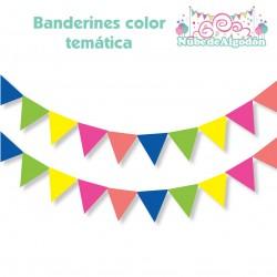 Banderín Color Temático...