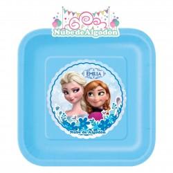 Frozen Plato Cartón...