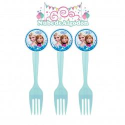 Frozen Tenedores Cumpleaños...