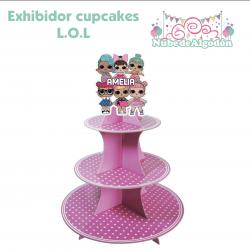 Exhibidor Cupcakes...