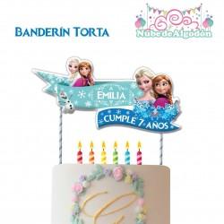 Frozen Banderín Torta...