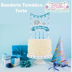 Banderín Torta Cumpleaños...