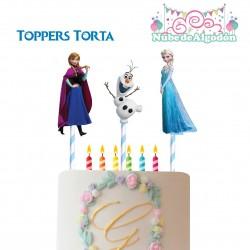 Frozen Toppers Torta...