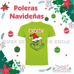 Poleras Estampadas Grinch...