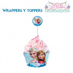 Frozen 20 Cupcakes Toppers...