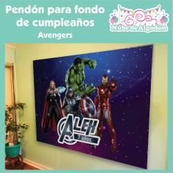 Pendón Avengers / Los...