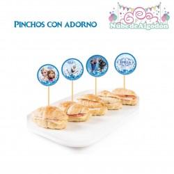 Frozen Pinchos con Adornos...