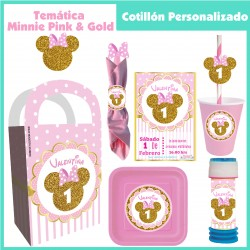 Minnie  Gold Temática...