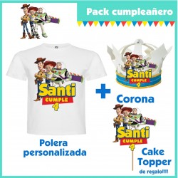 Pack Cumpleaños Toy Story...
