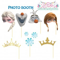 Frozen Set Photo Booth...