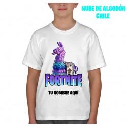 Polera Llama Fortnite...