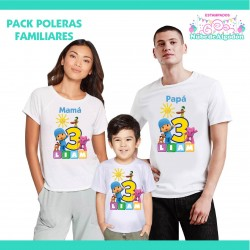 Pack Pocoyo Poleras...