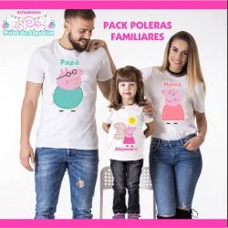 Pack Peppa Pig Poleras...