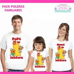 Pack Kid e Cats Poleras...