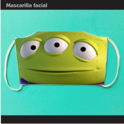 Mascarilla Toy Story...