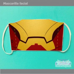 Mascarilla Iron Man...