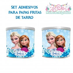 Frozen Set Adhesivos Papas...