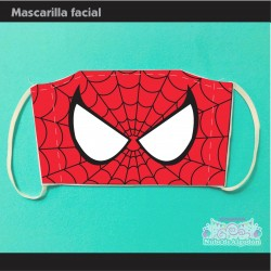 Mascarilla Spider Man...