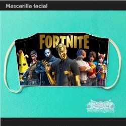 Mascarilla Fortnite...