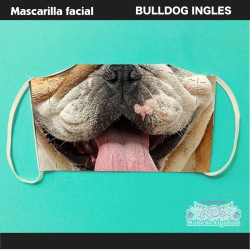 Mascarilla Bulldog Ingles...