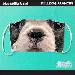 Mascarilla Bulldog Francés...